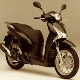 rent Honda SH 150 in Skiathos