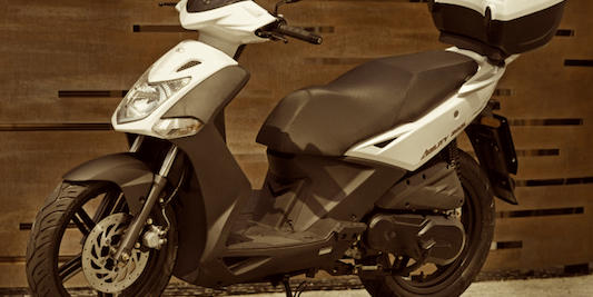 Rent Kymco agility 125 in Skiathos
